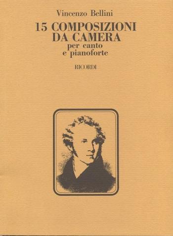 15 Composizini Da Camera: Soprano Voice And Piano (Ricordi)