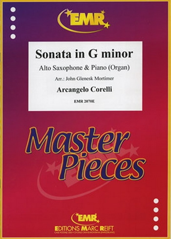 Sonata: G Minor: Alto Saxophone