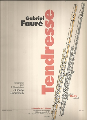Tendresse: Flute Duet: From Dolly Suite Op56