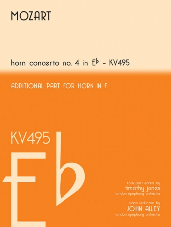 Horn Concerto: No 4: Eb: Kv495: French Or Tenor Horn (Mayhew)