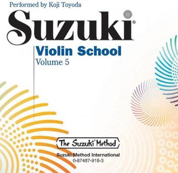 Suzuki Violin School Vol.5  Cd Only