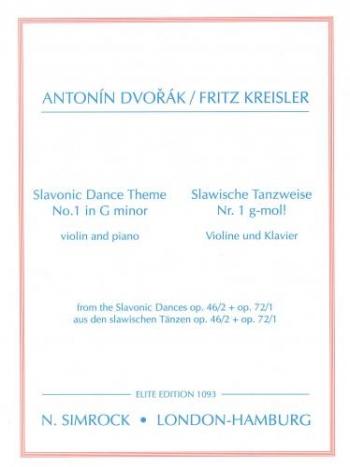 Dance Theme: No1: G Minor: Violin and Piano