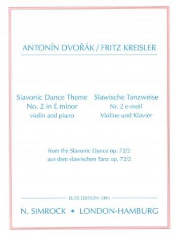 Dance Theme: No2: E Minor: Violin