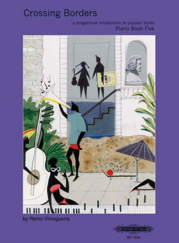 Crossing Borders Book 5: Piano
