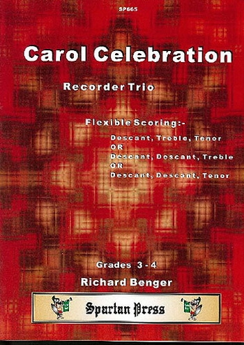 Carol Celebration: Recorder Trio: Flexible Parts Grade 3-4
