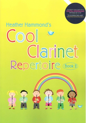 Cool Clarinet: Repertoire: Book 2 Book & CD (Hammond)