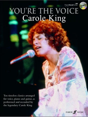 Youre The Voice: Carole King: Piano Vocal Guitar: Bk&cd