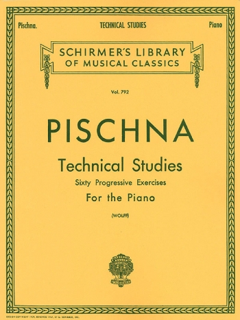 Technical Studies For Piano Vol.792