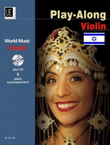 World Music Israel Play Along: Violin: Book & CD