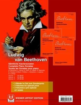 Complete Piano Sonatas Vol.1-3: Piano (Wiener Urtext)