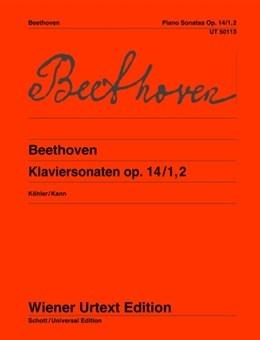 Piano Sonatas Op.14/1 and 2 Piano (Wiener Urtext)