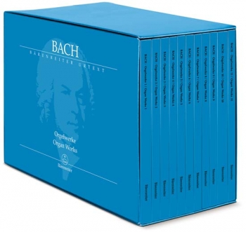 Organ Works: 11 Volumes: Box Set: Complete Organ Works  (Barenreiter)
