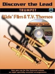 Discover The Lead: Kids Film and Tv Themes: Trumpet: Book & CD