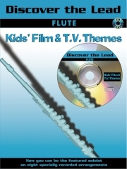 Discover The Lead: Kids Film and Tv Themes: Flute: Book & CD