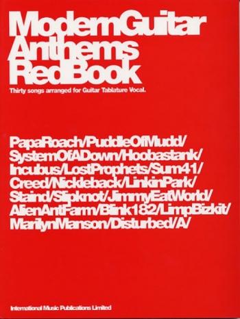 Modern Guitar Anthems Red Book