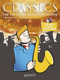 Classics For The Young Saxophone Player: Alto Sax Book & Cd