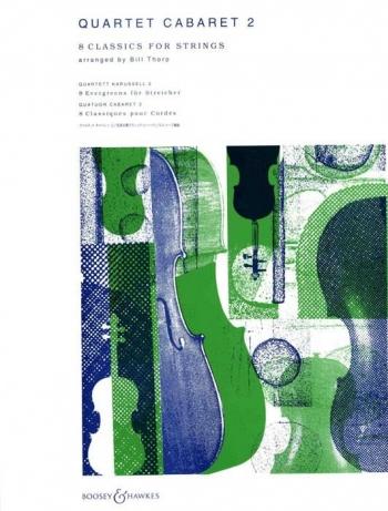 Quartet Cabaret Vol 2: String Quartet: Set Of Parts (Thorp)