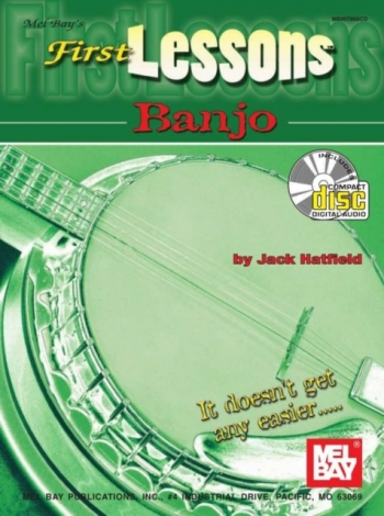 First Lessons Banjo: 5 String Banjo: Book & CD