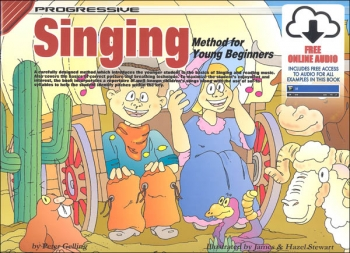 Progressive Singing For Young Beginners: Book & CD