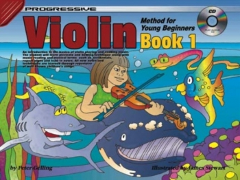 Progressive Violin Method For Young Beginners Book 1: : Book & CD