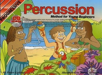 Progressive Percussion Method For Young Beginners: Book & CD
