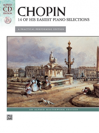 14 Easy Piano Selections: Piano: Book & Cd  (Alfred)