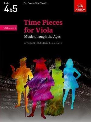 Time Pieces: Vol 2: Viola & Piano (ABRSM)
