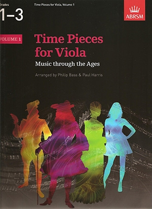 Time Pieces: Vol 1: Viola & Piano (ABRSM)