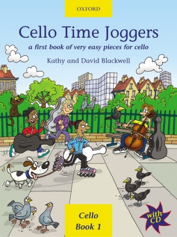 Cello Time Joggers Book 1 Book & CD (Blackwell) (Oxford)