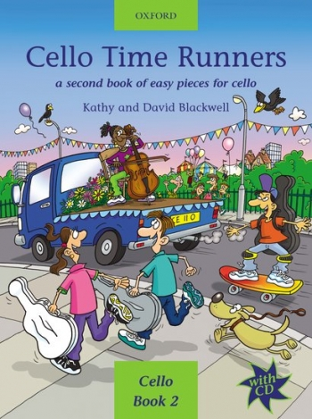 Cello Time Runners Book 2 Book & CD (Blackwell) (Oxford)