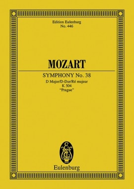 Symphony No.38 D Major Prague: Miniature Score