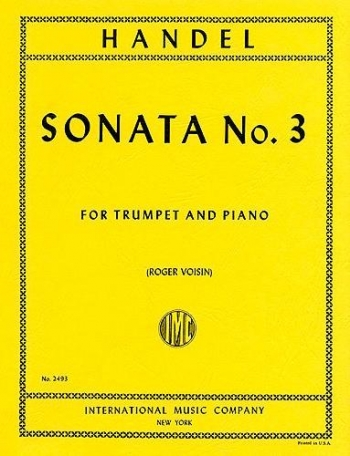 Sonata No3: Trumpet and Piano