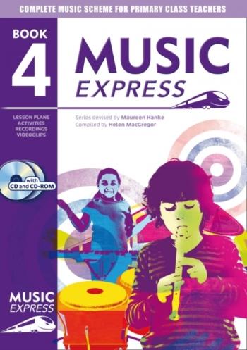 Music Express: Year 4: Teachers Book & CD  (A & C Black)