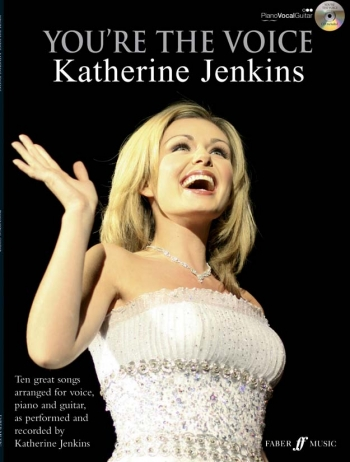 Youre The Voice: Katherine Jenkins: Piano Vocal Guitar: Bk&cd