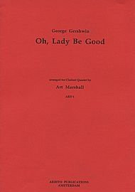 Oh Lady Be Good: Clarinet Quartet : 3bb and Bass