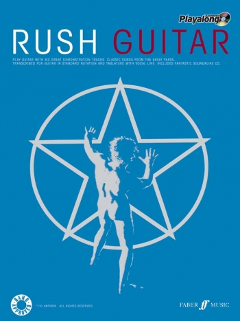 Rush: Authentic Playalong: Guitar Tab: Book & CD