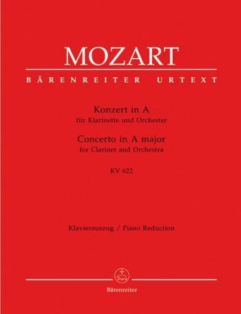 Clarinet Concerto: A Major: K622: A Clarinet & Piano (Barenreiter)