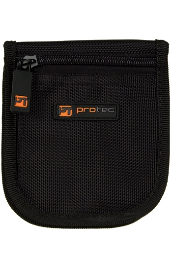 Pro Tec Triple Small Brass Padded Mouthpiece Pouch