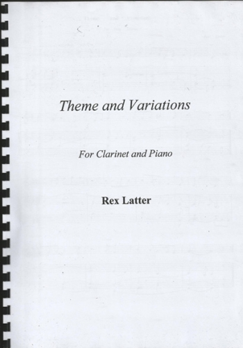 Theme And Variations: Clarinet & Piano