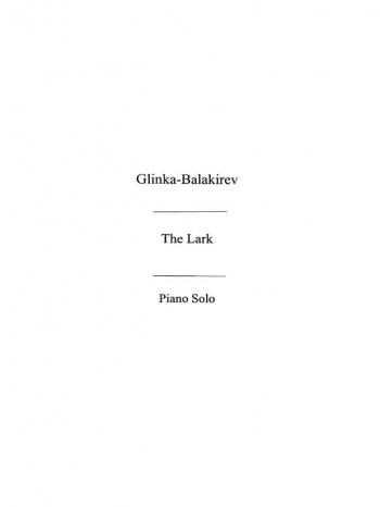 The Lark: Piano