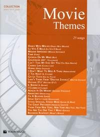 Movie Themes: 25 Songs: Collection For Piano Vocal Guitar