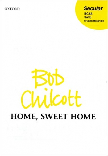 Home Sweet Home-Vocal-Satb