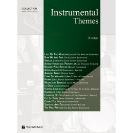 Instrumental Themes: 18 Songs: Collection Piano Vocal Guitar