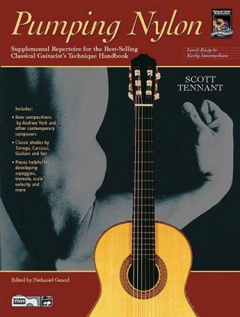 Pumping Nylon: Easy To Early Intermediate Repertoire: Guitar: Book & CD