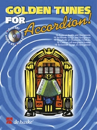 Golden Tunes For Accordion: Book & CD