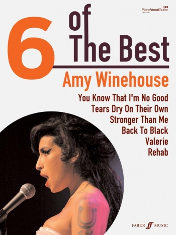 6 Of The Best: Amy Winehouse: Piano Vocal Guitar