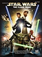 Star Wars: Selections From The Clone Wars:  Easy Piano Solos