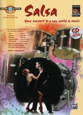 Drum Atlas Series: Salsa: Book & CD