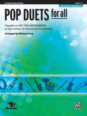 Pop Duets For All: Bb Clarinet: Level 1-4 : Revised And Updated