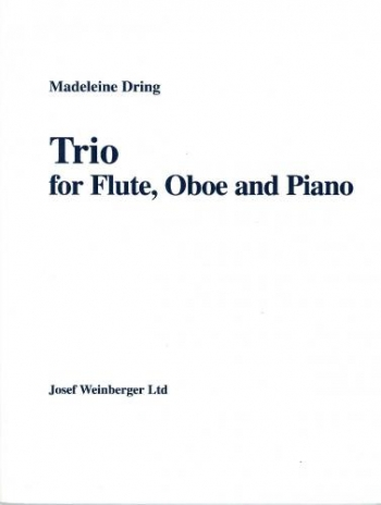 Trio: Flute, Oboe and Piano